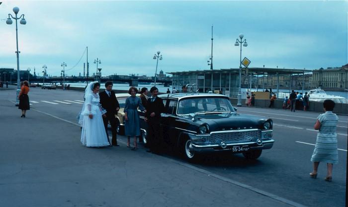 Ленинградская свадьба.  СССР, Ленинград, 1981 год.