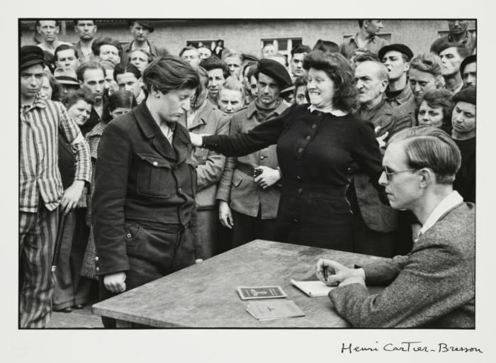 Информатор и уполномоченный представитель гестапо. Германия, 1945 год.
