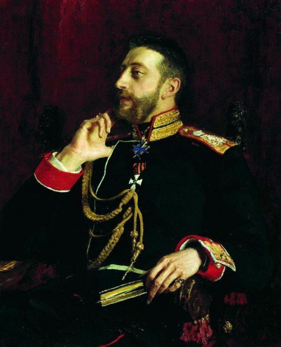 Портрет великого князя Константина Константиновича Романова.