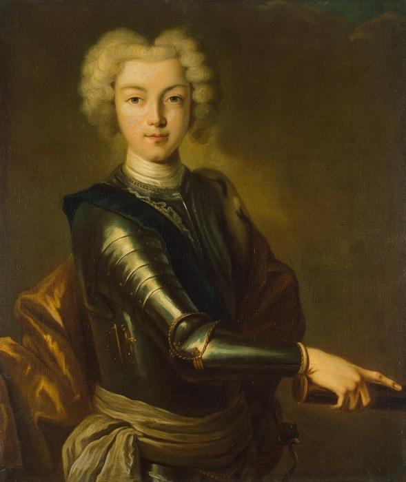 Российский император Петр II Алексеевич.