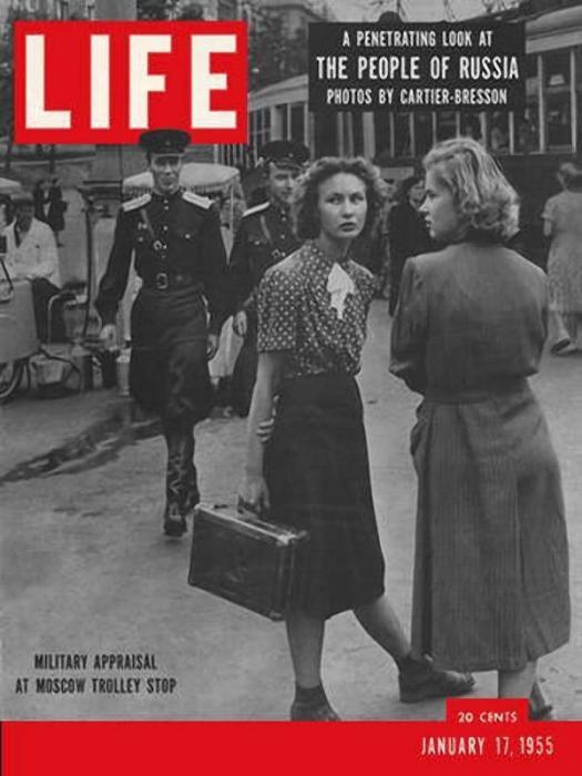 Обложка журнала «Лайф» в январе 1954 года.