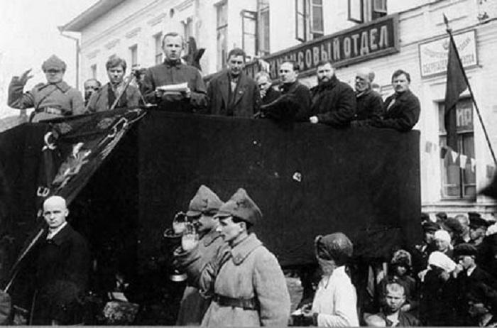 Празднование 1 Мая. Череповец, 1926 год.