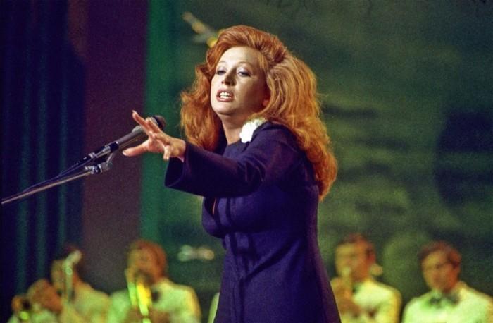 Алла Пугачева на сцене. 16 декабря 1978 года.