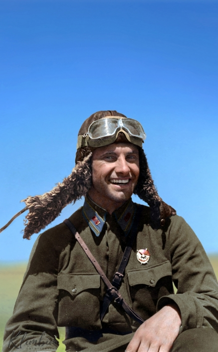 Майор Рабоче-крестьянской Красной Армии, участник Великой Отечественной войны, Герой Советского Союза.