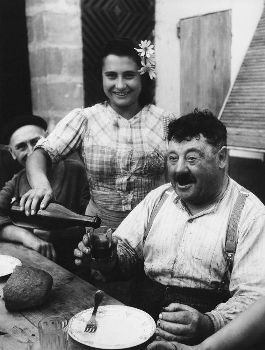 Виноделатель Жиронды в 1945 году.