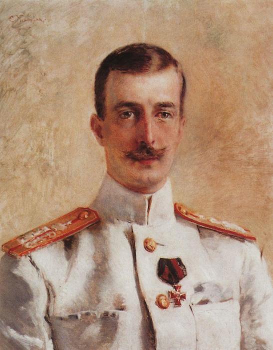 Портрет Великого Князя Кирилла Владимировича, написанный художником Константином Егоровичем Маковским.