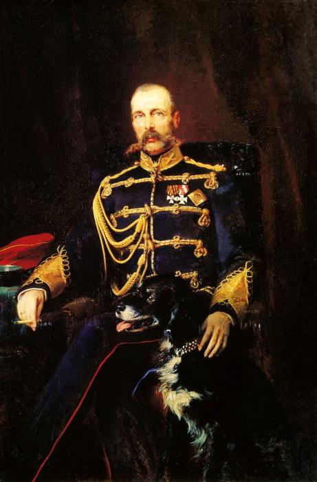 Портрет Александра II, написанный художником Константином Егоровичем Маковским.