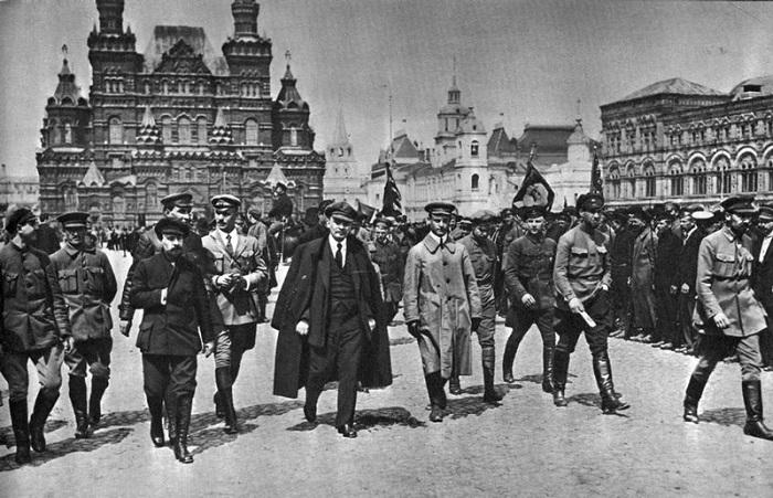 Редкие документальные фотографии Ленина.