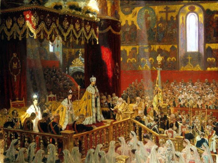 Коронации императора Николая II и императрицы Александры Федоровны.