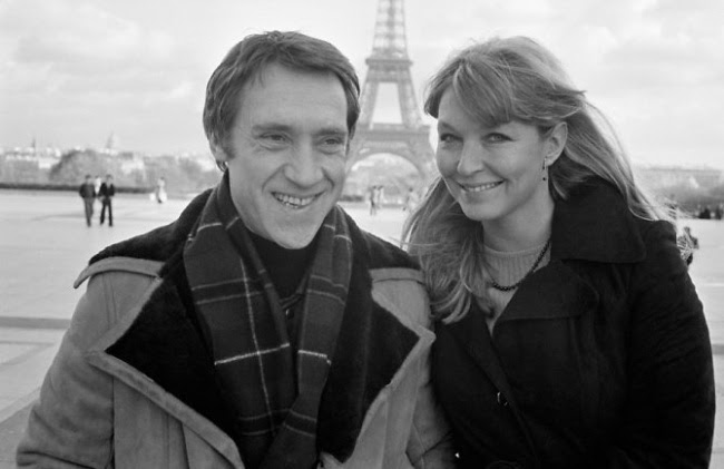 Владимир Высоцкий и Марина Влади в Париже в 1977 году.
