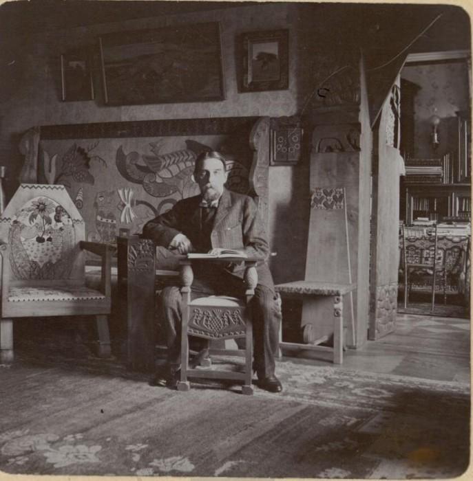 Князь Вячеслав Николаевич Тенишев. Россия, село Талашкино, 1909 год.