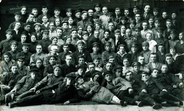 Съезд партийных работников. Красноярский край, 1928 год.