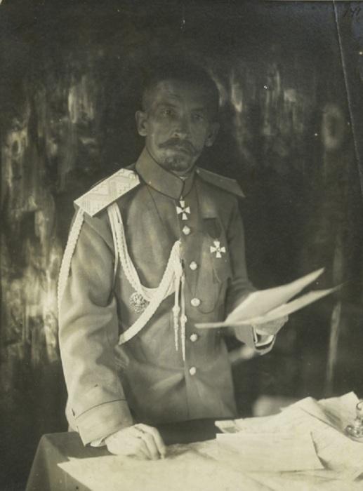 Русский военачальник и генерал от инфантерии.