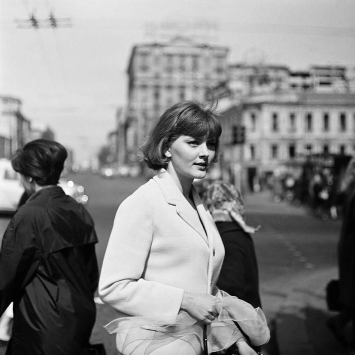 Киноактриса Марианна Вертинская в 1960-е годы.