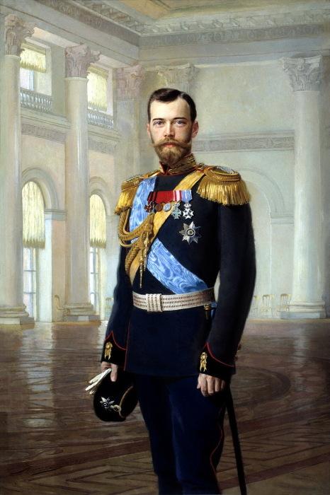 Портрет императора Николая II, написанный художником Липгартом Эрнестом Карловичем.