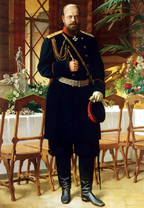 Портрет император Всероссийского Александра III.