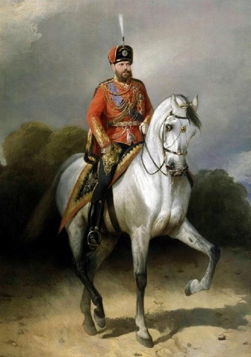 Отец последнего российского монарха Николая II.