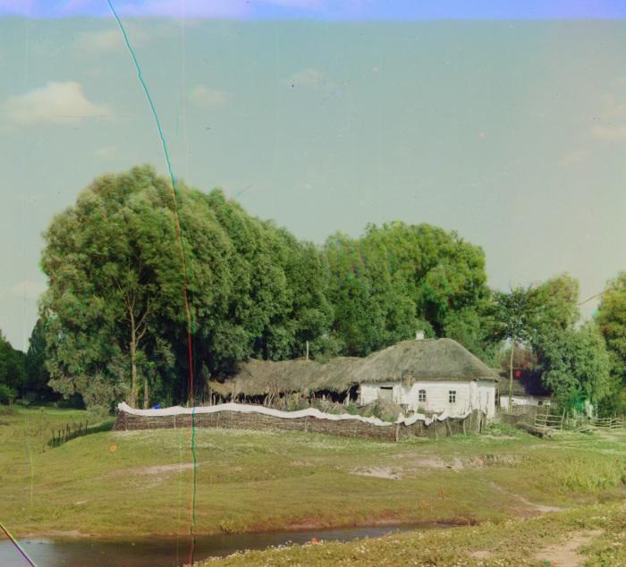 Традиционные жилища для южных славян.