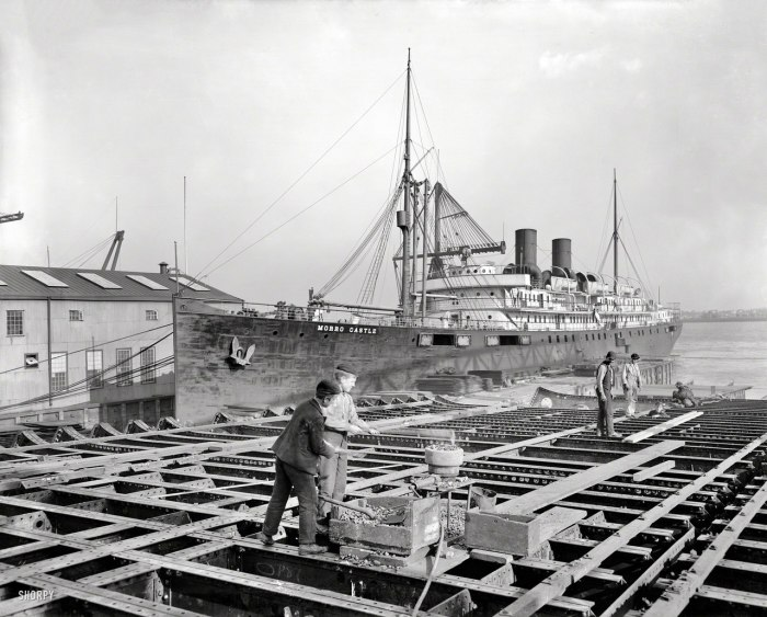 Клепальщики на верфи William Cramp & Sons Shipbuilding Company. Филадельфия, 1901 год.