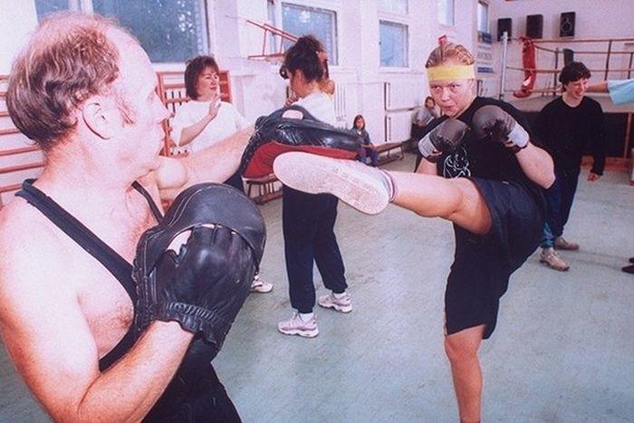 Занятия боевыми искусствами.