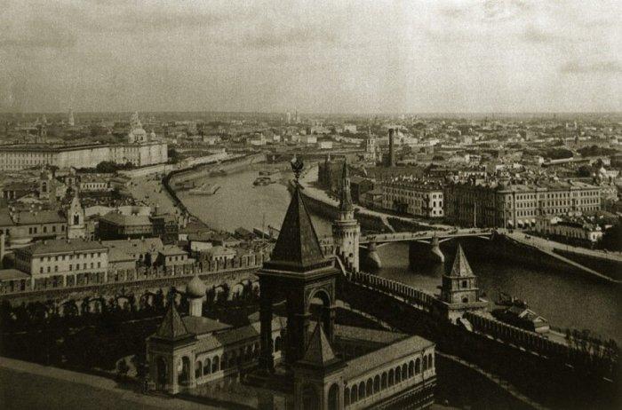 Крепость в центре Москвы. Россия, Москва, 1920-е годы.