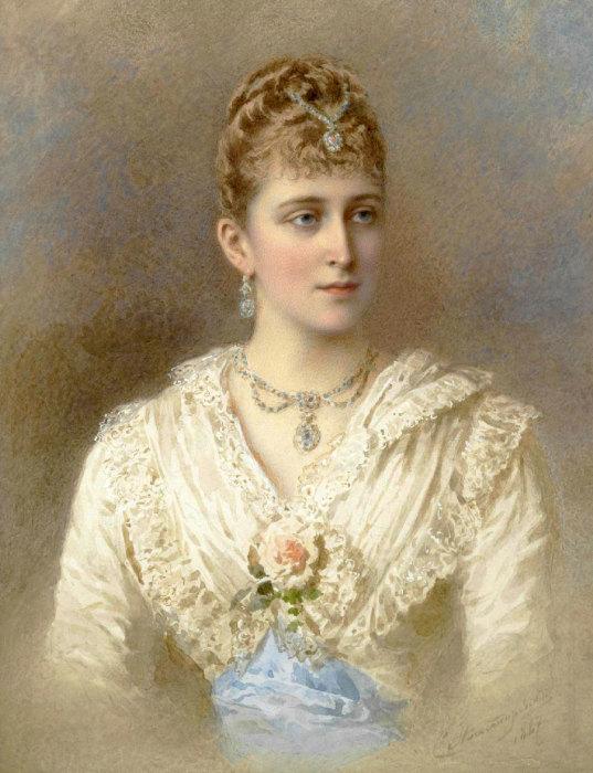 Великая княгиня Елизавета Фёдоровна.