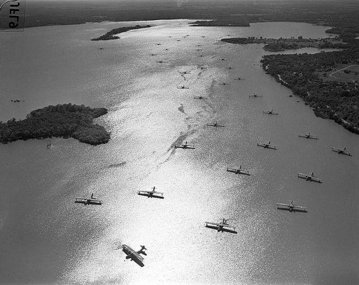 «Каталины» производились всю Вторую мировую и активно использовались союзниками на тихоокеанском и европейском театре военных действий. Строились в США и Канаде в 1930-х и 1940-х годах. В СССР строились по лицензии под названием ГСТ.