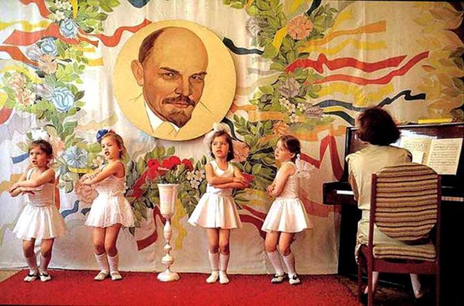 Портрет Владимира Ильича Ленина «украшал» каждый садик.