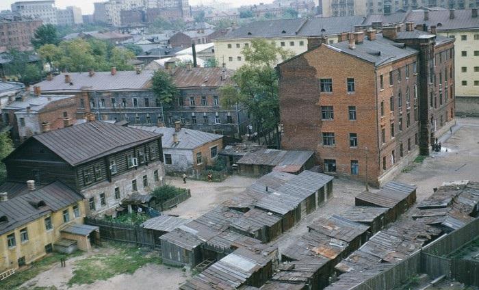 Таганский район. СССР, Москва, 1950-е годы.