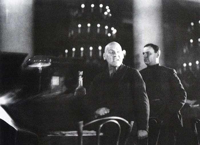 Процесс над бывшими меньшевиками, которые предстали перед Советским Верховным Судом. СССР, Москва, 1931 год.