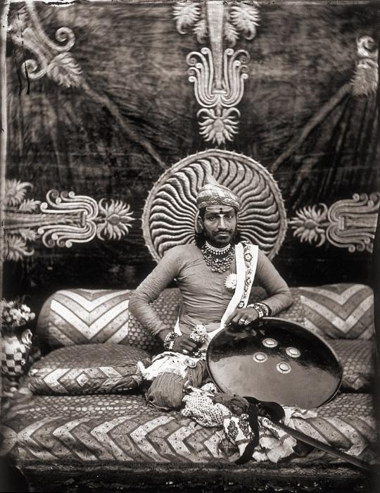 Правитель Джайпура Рам Сингх. Джайпур, примерно 1857 год.