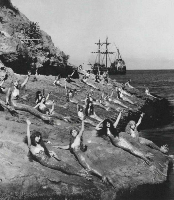 На съемках фильма Питер Пэн в 1924 году.