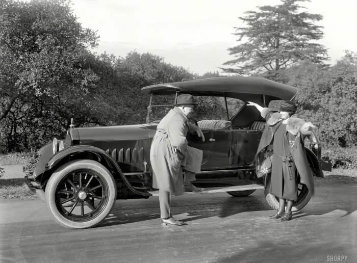 Просто шикарный автомобиль. США, 1920 год.