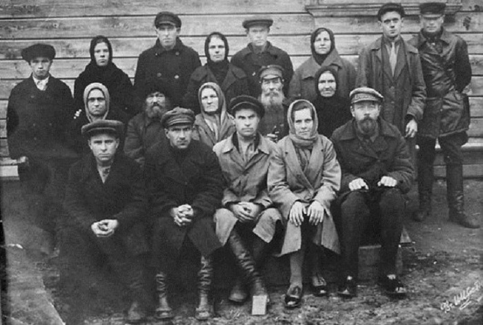 Сельский Совет. Павло-Посадский район, Московская область, 1930-е годы.