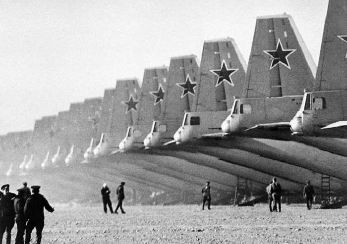Расцвет советской авиации в 1970-х годах.