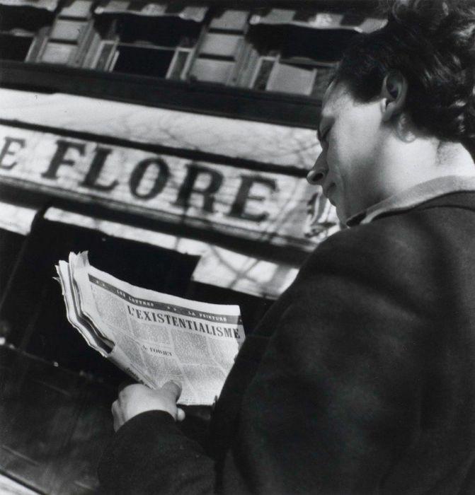Публикация в газете о новом особом направление в философии XX века.