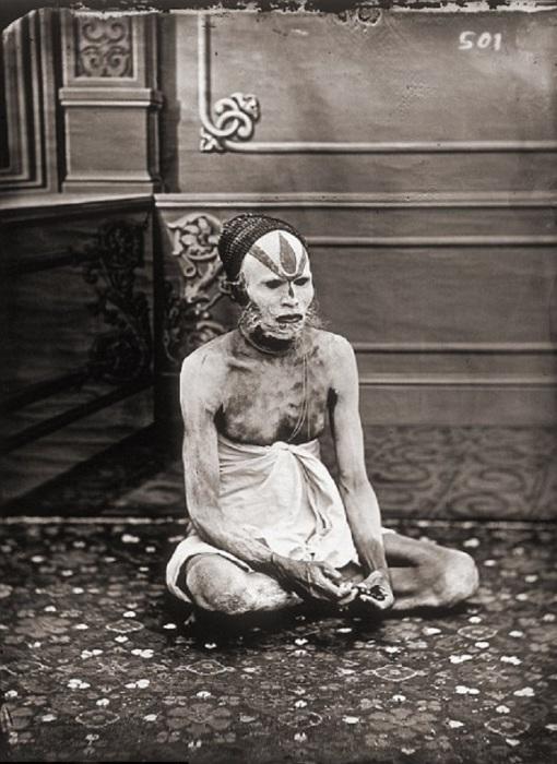 Портрет факира. Джайпур, примерно 1857 год.