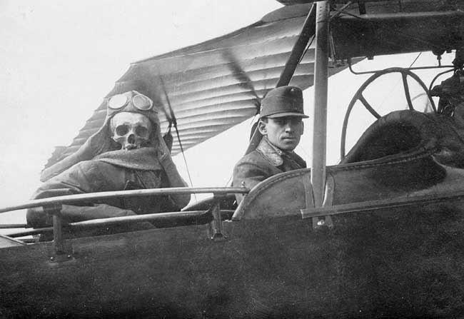 Армейский юмор во время Первой мировой войны.