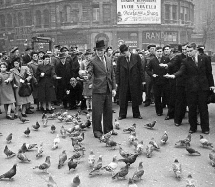 Футболисты московского «Динамо» в Лондоне в ноябре 1945 года.