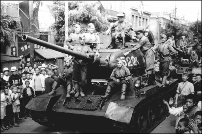 Редкие фотографии времён советско-японской войны.