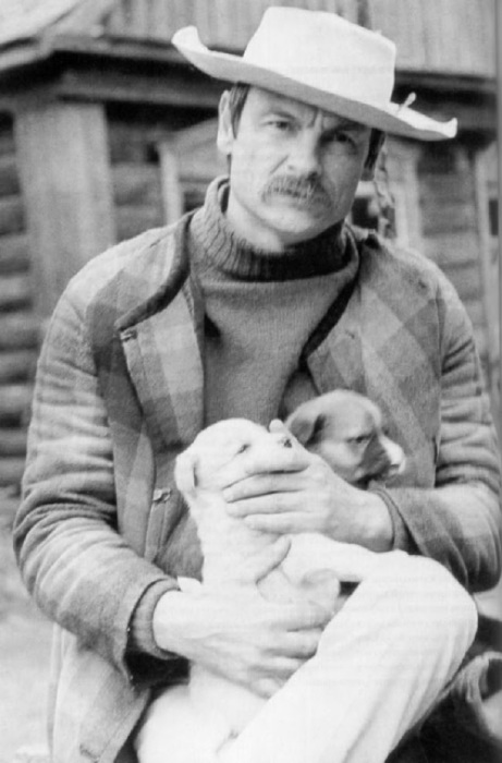 Андрей Тарковский во время съемок кинокартины «Зеркало» в 1975 году.