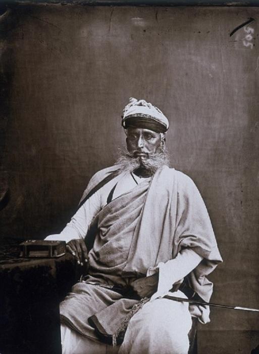 Один из министров махараджи. Джайпур, примерно 1857 год.