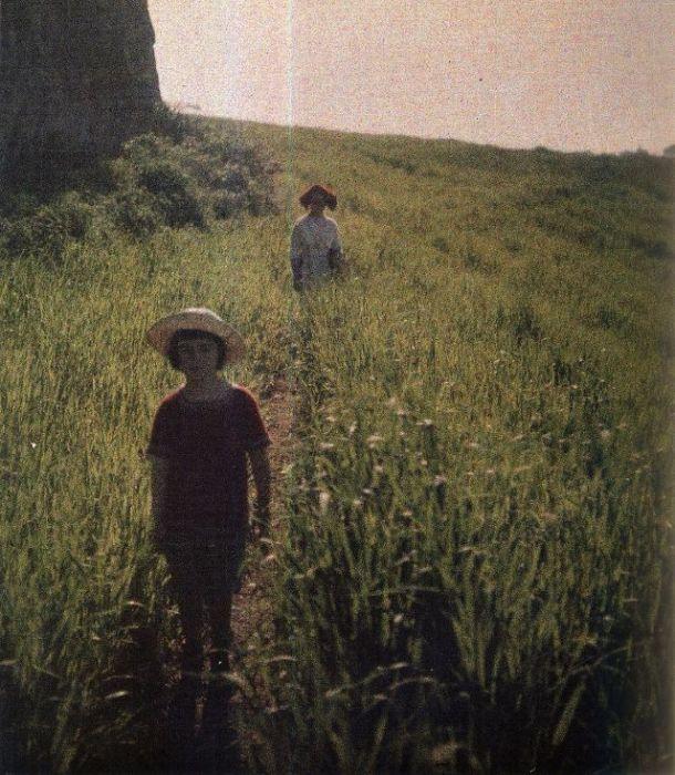 Сын писателя Савва в 1914 году.
