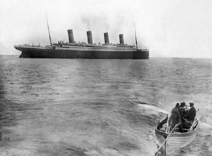 Последняя известная фотография Титаника.