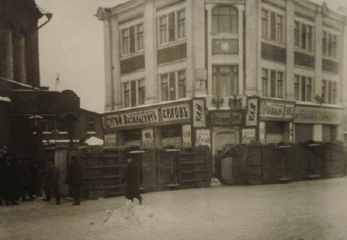 Декабрьское вооруженное восстание в Москве в 1905 году.