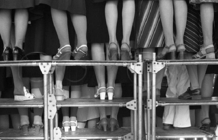 Городской праздник песни на Театральной площади. СССР, Новокузнецк, 3 июня 1979 год.