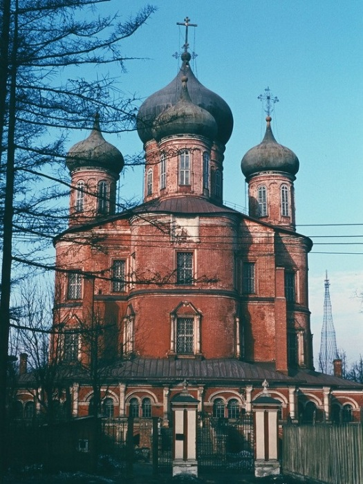 Донской монастырь. СССР, Москва, 1950-е годы.