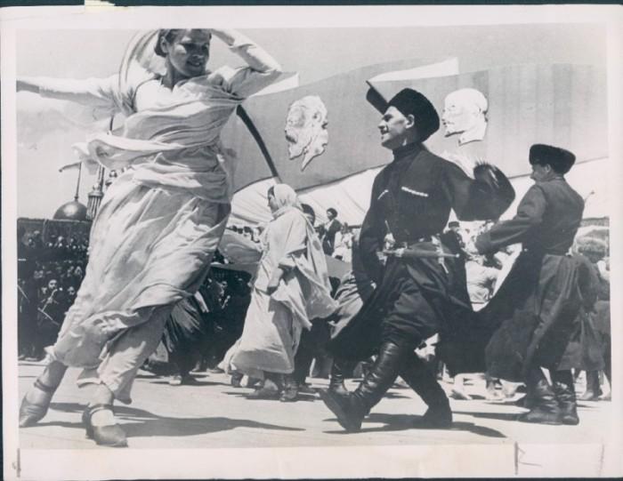 Лезгинка в Пятигорске. СССР, 1936 год.