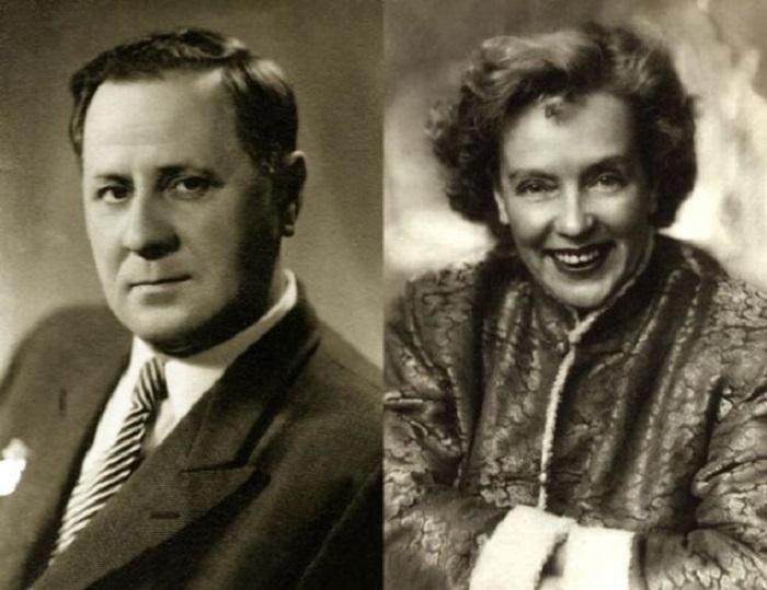 Марина Ладынина и Иван Любезнов.