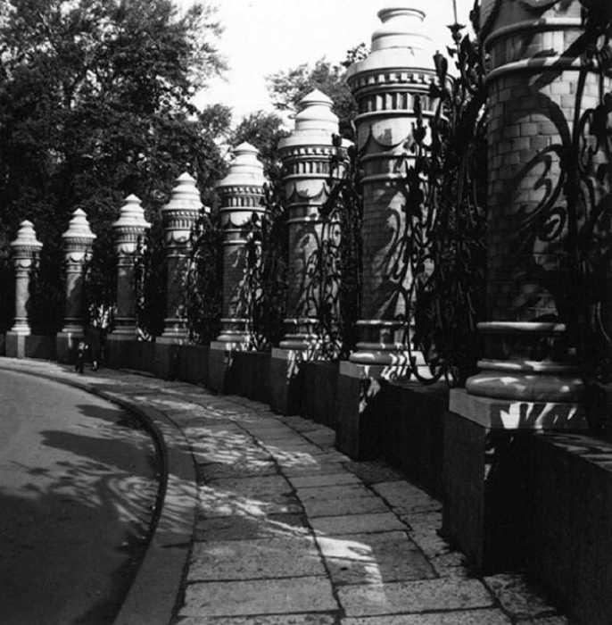 Причудливые узоры Петербурга, 1957 год.